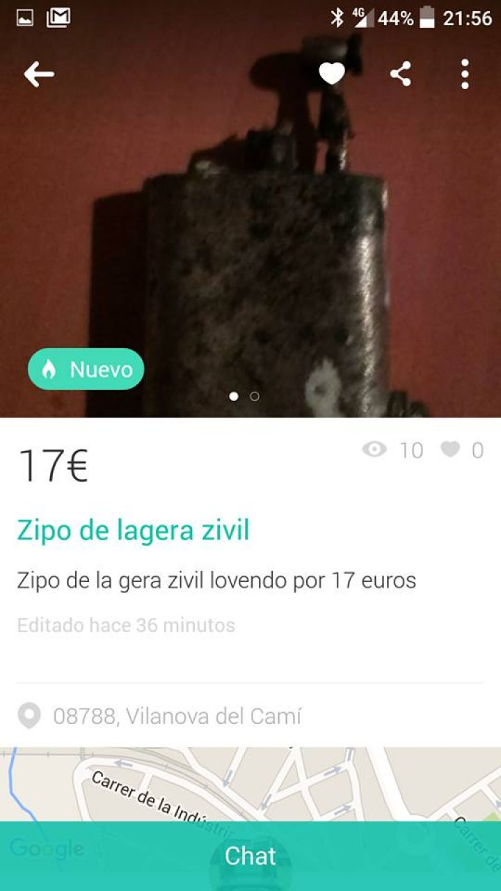 """""""ZIPO DE LAGERA ZIVIL"""""""