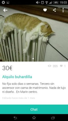 ALQUILO BUHARDILLA