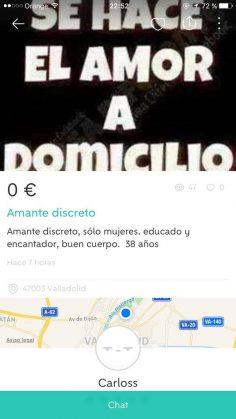 AMANTE DISCRETO