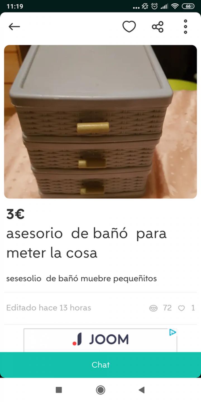 """""""ASESORIO DE BAÑÓ"""""""