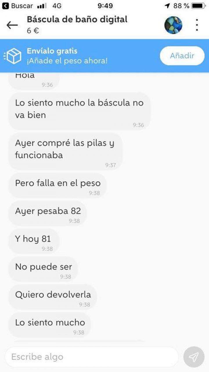 BÁSCULA DE BAÑO