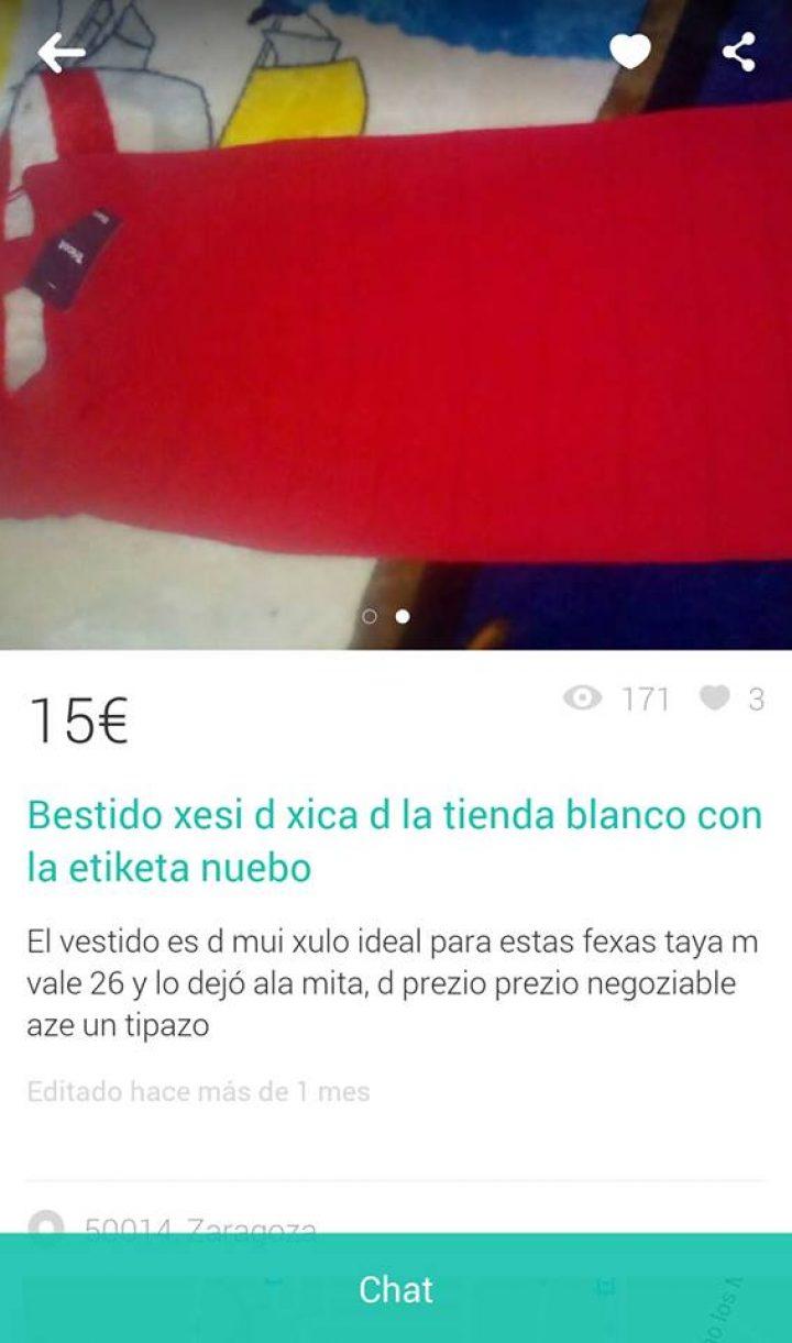 """BESTIDO XESI DE XICA"""
