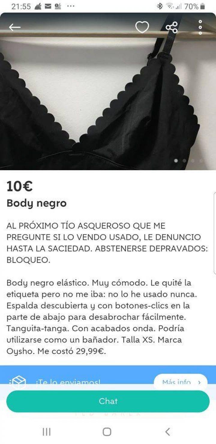 BODY NEGRO