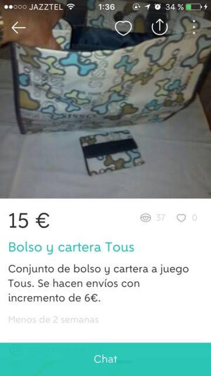 BOLSO Y CARTERA TOUS