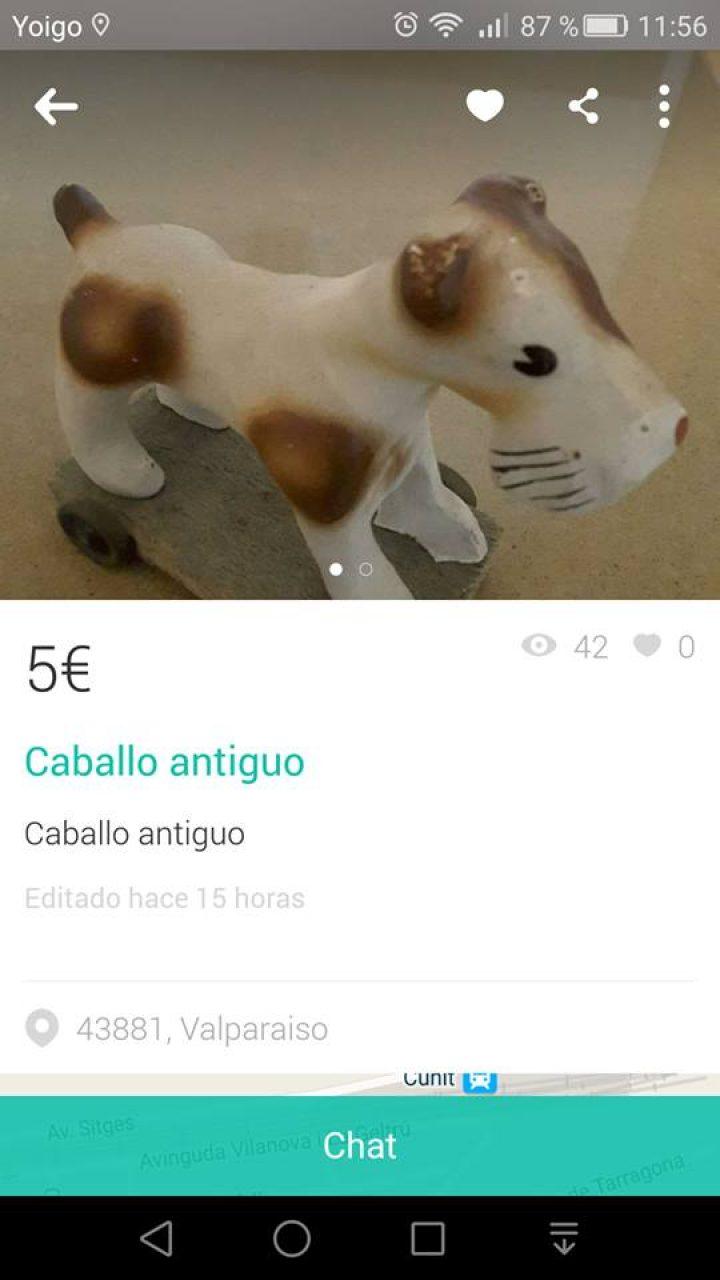 CABALLO ANTIGUO