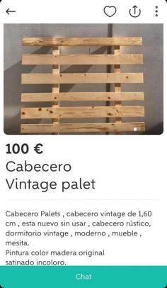 CABECERO VINTAGE PALET