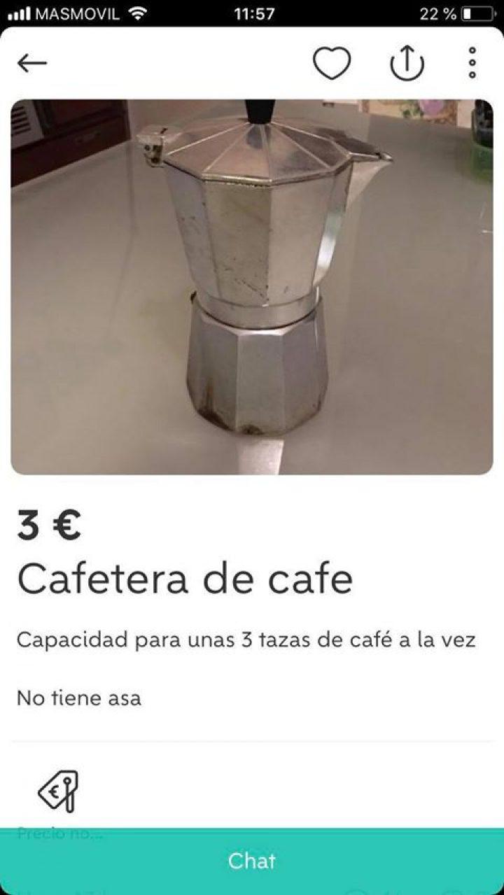 CAFETERA DE CAFÉ
