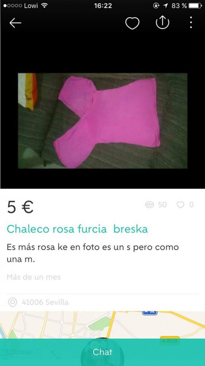 "CHALECO ROSA ""FURCIA"""