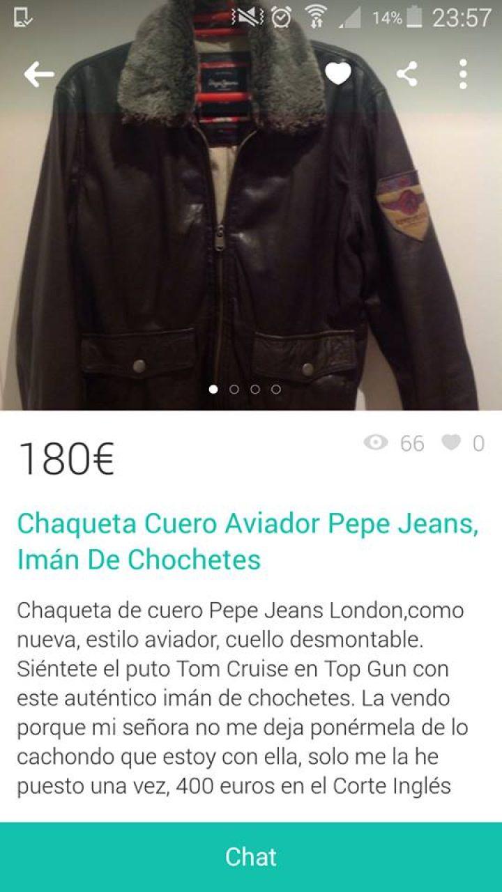CHAQUETA AVIADOR