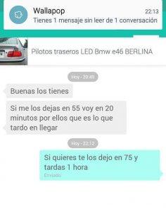 PILOTOS TRASEROS LED