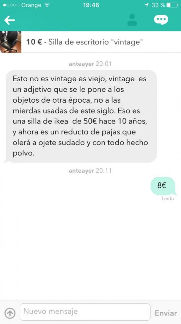 SILLA DE ESCRITORIO VINTAGE