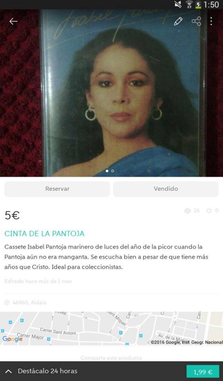 CINTA DE LA PANTOJA