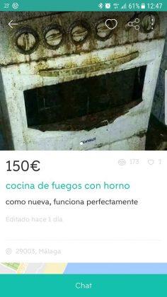 COCINA DE FUEGOS CON HORNO