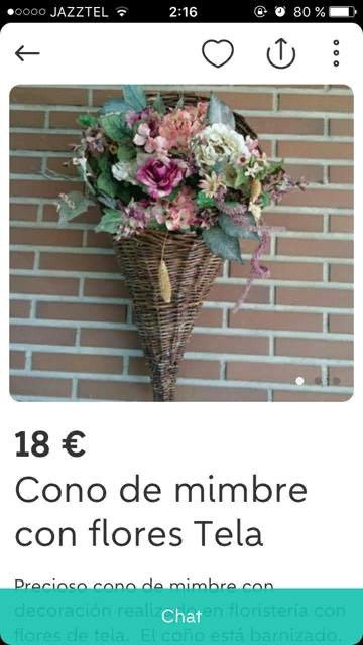 CONO DE MIMBRE