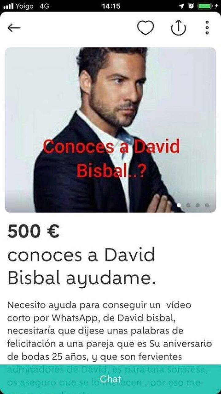 CONOCES A DAVID BISBAL AYUDAME