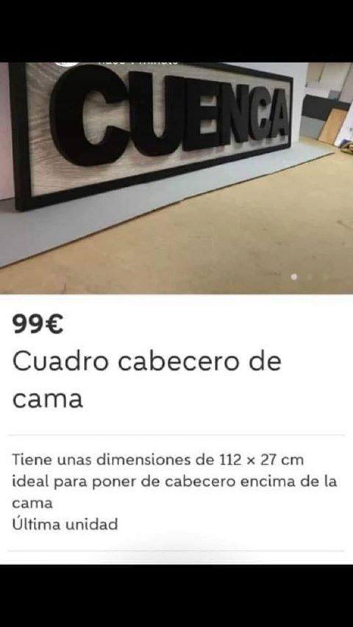 CUADRO CABECERO