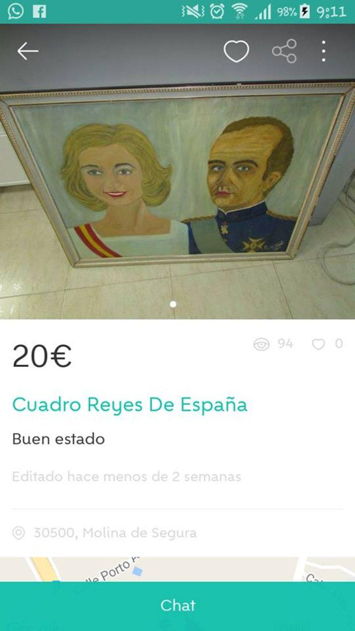 CUADRO REYES DE ESPAÑA