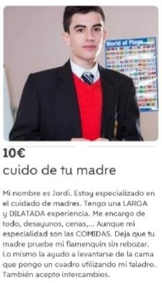 CUIDO DE TU MADRE