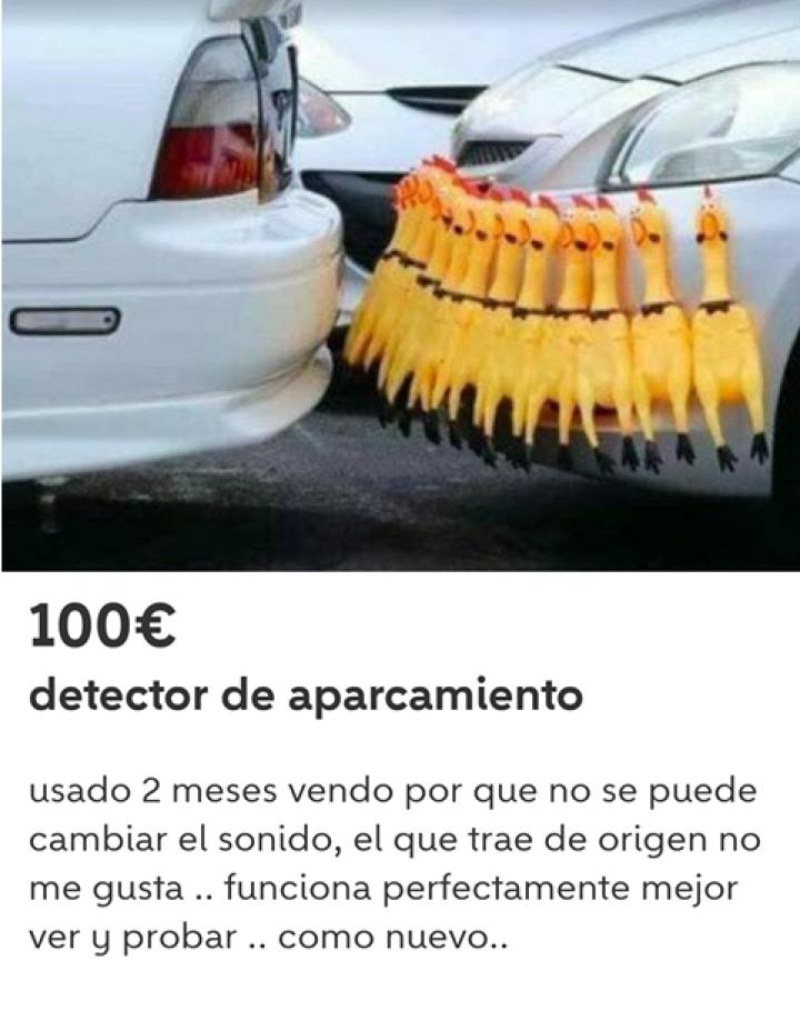 DETECTOR DE APARCAMIENTO