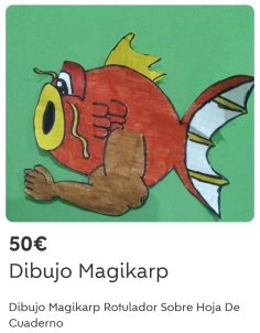 DIBUJO MAGIKARP