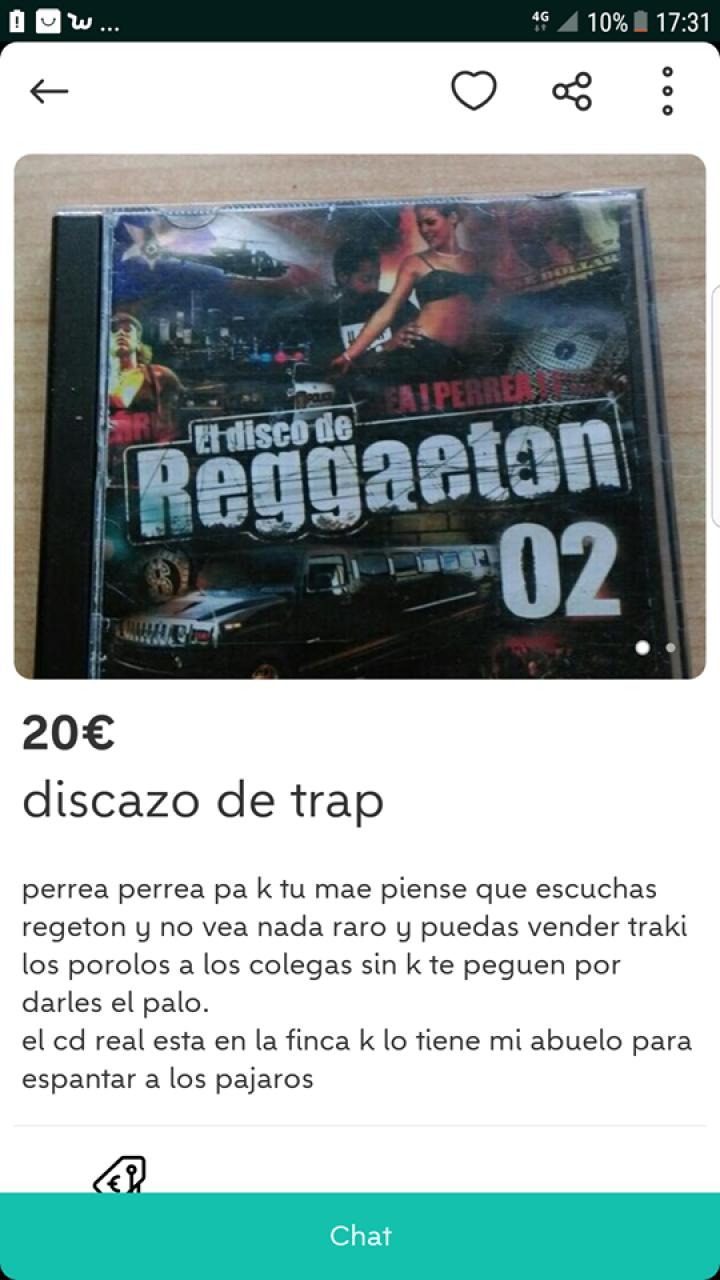 DISCAZO DE TRAP