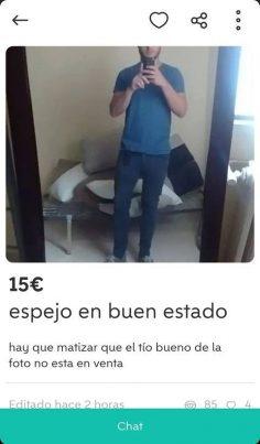 ESPEJO EN BUEN ESTADO