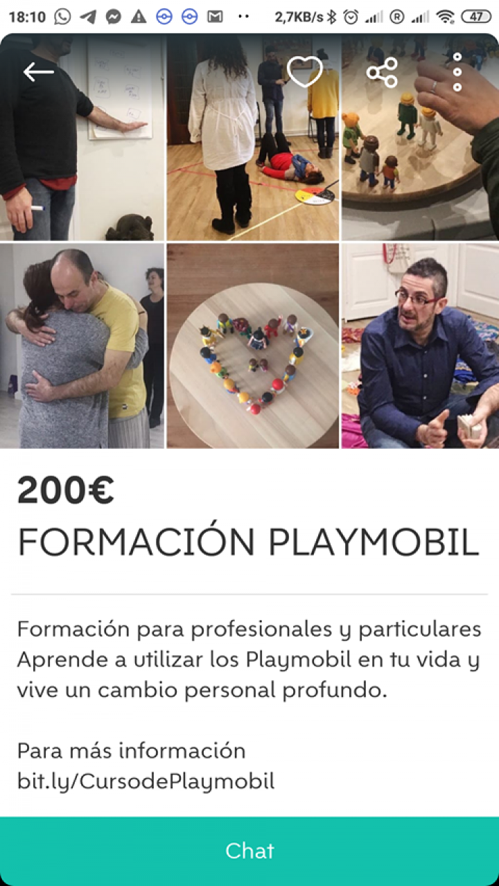 FORMACIÓN PLAYMOBIL