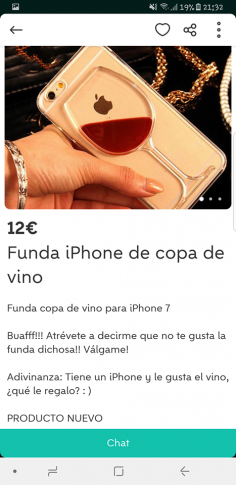 FUNDA COPA DE VINO