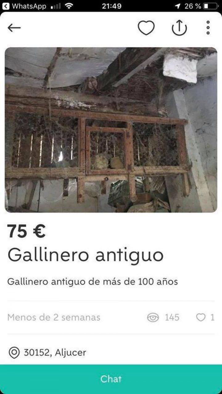 GALLINERO ANTIGUO