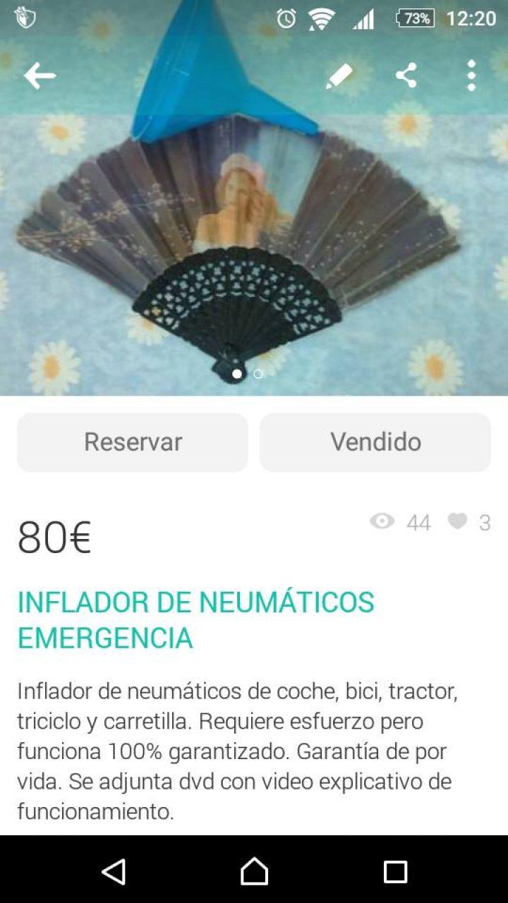 """""""INFLADOR DE NEUMÁTICOS EMERGENCIA"""""""