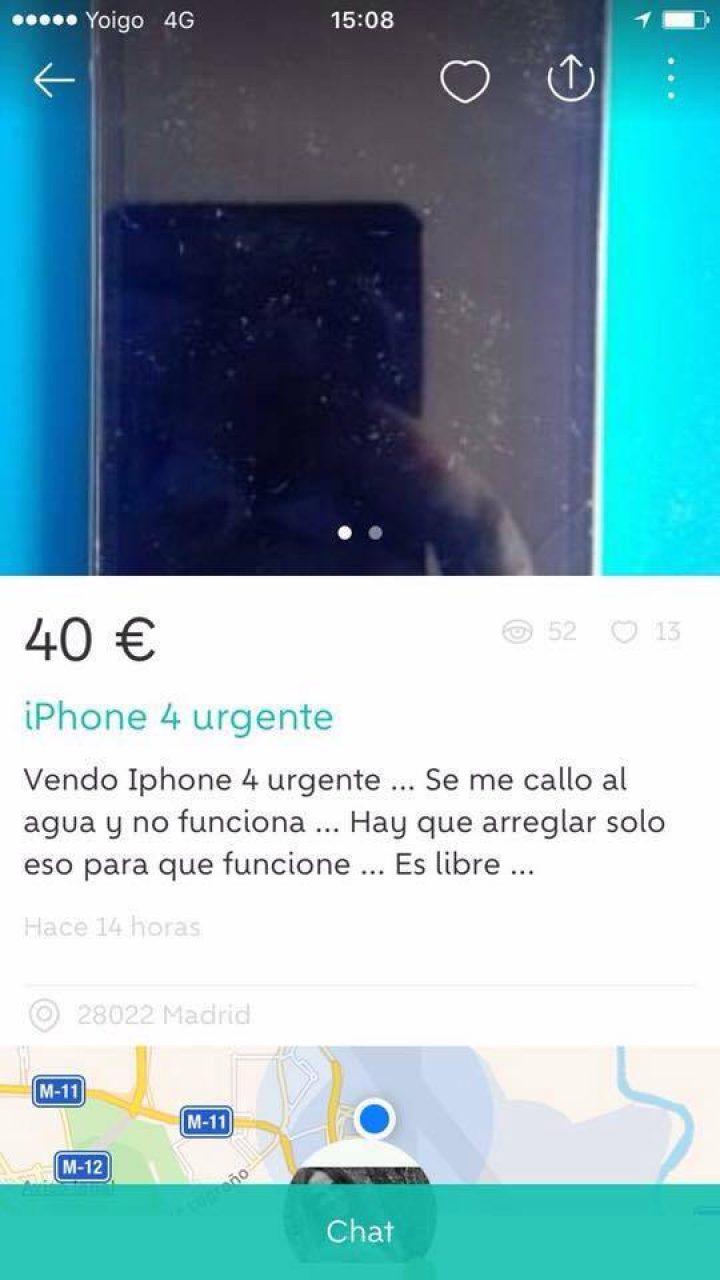 IPHONE URGENTE