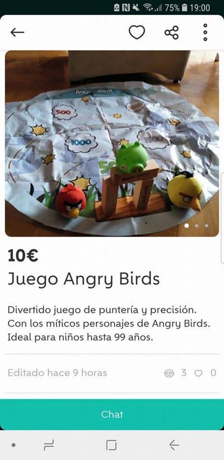 JUEGO ANGRY BIRDS