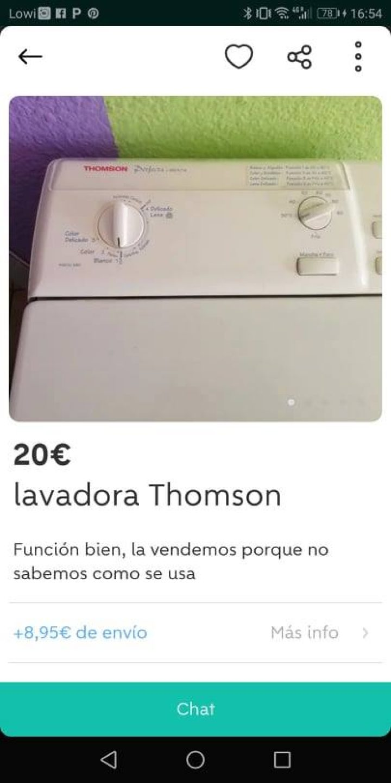 LAVADORA THOMSON