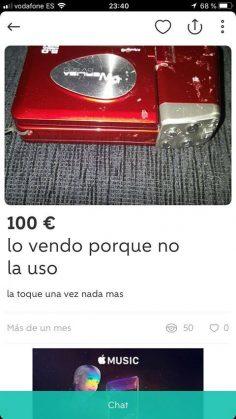 NO LA USO