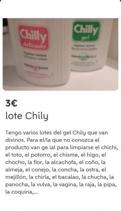 LOTE CHILLY
