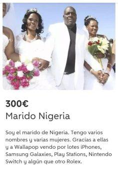 MARIDO DE NIGERIA