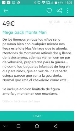 MEGA PACK MONTA MAN