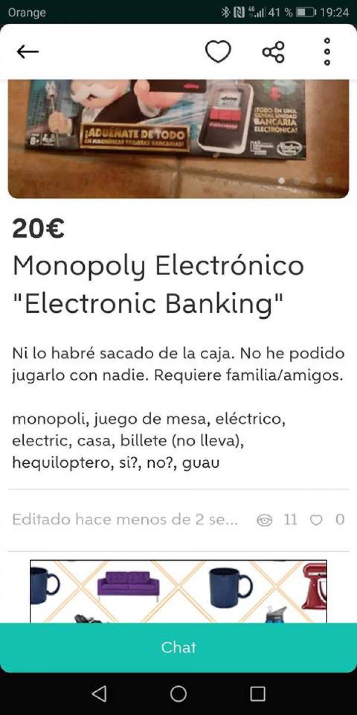 MONOPOLY ELECTRÓNICO