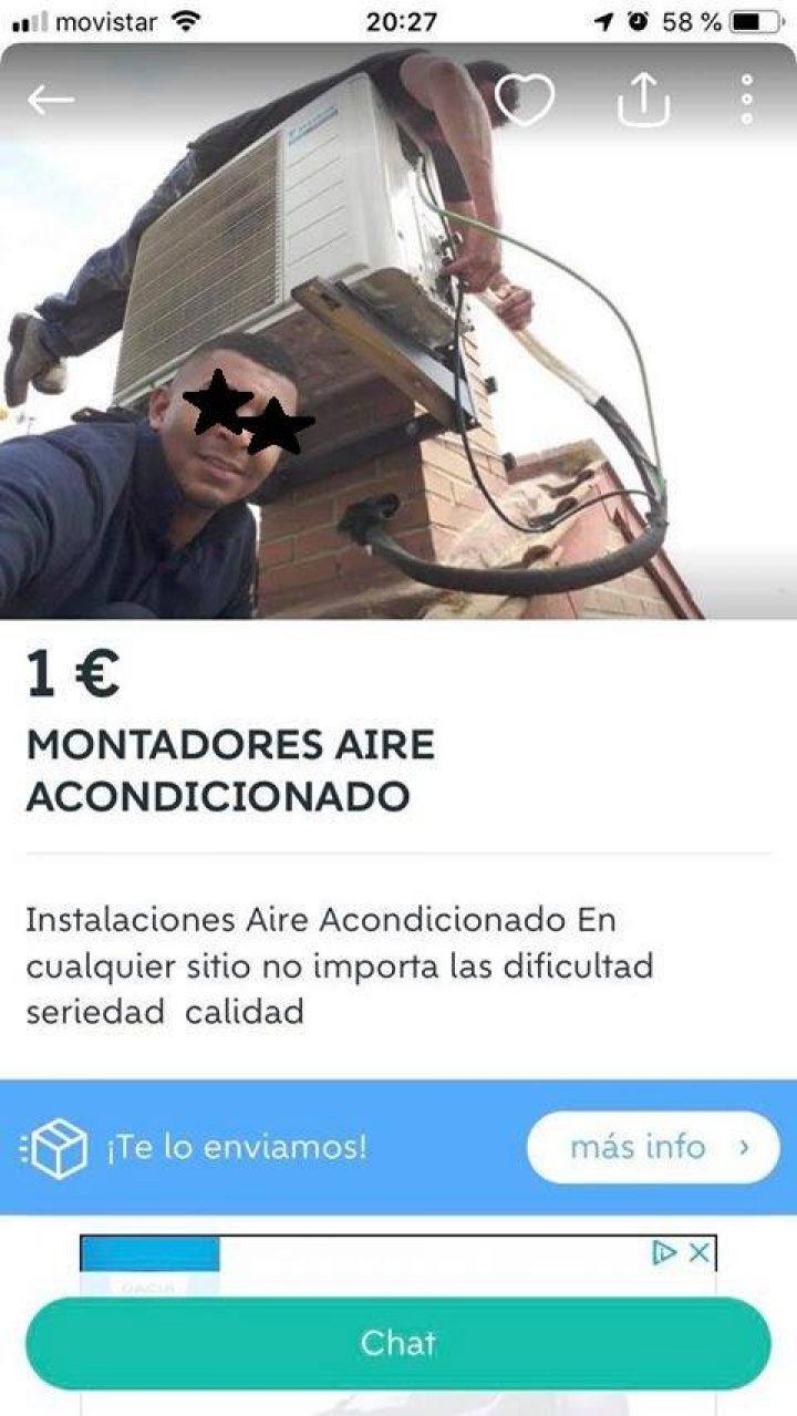 MONTADORES AIRE ACONDICIONADO