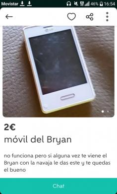 MÓVIL DEL BRYAN