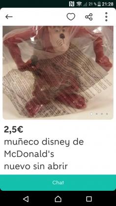 MUÑECO DISNEY