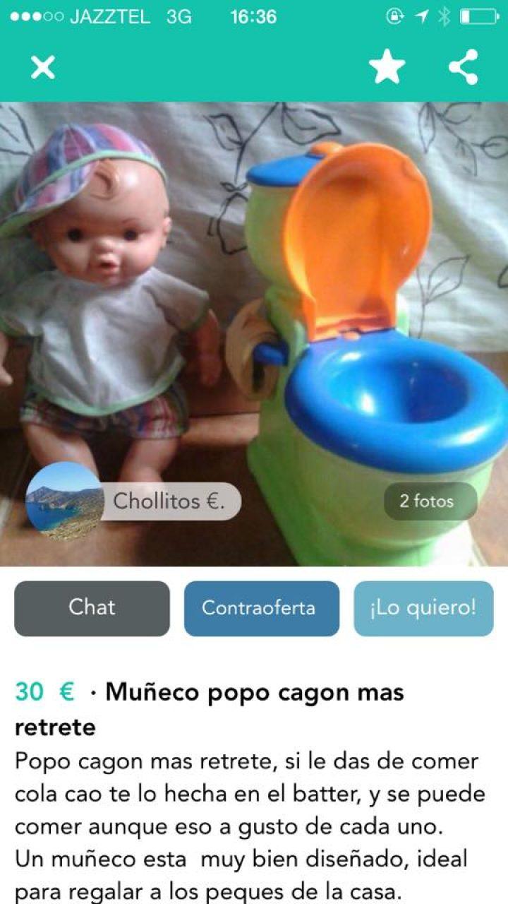 MUÑECO POPO