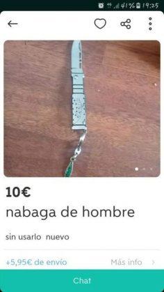 """NAVAGA DE HOMBRE"""