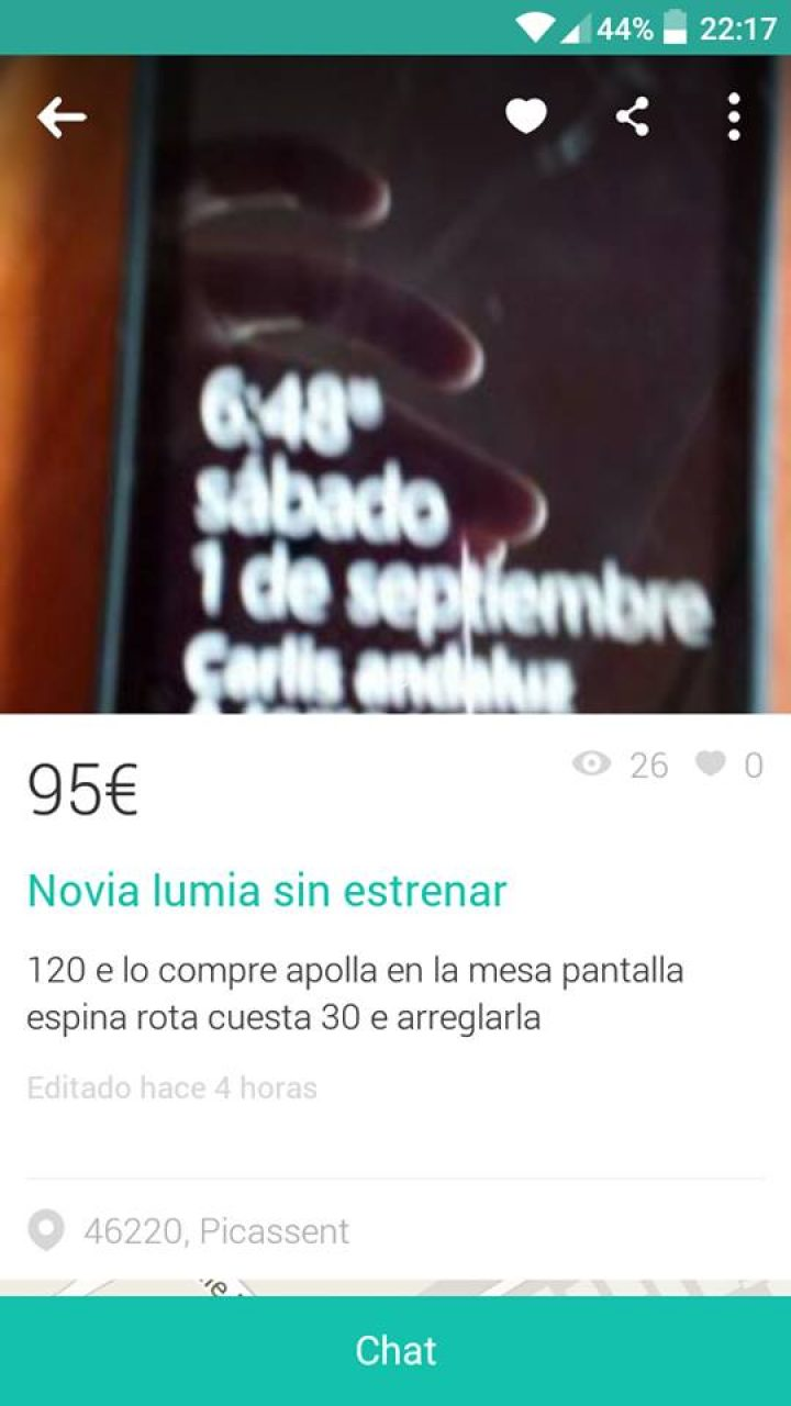 """NOVIA LUMIA SIN ESTRENAR"""