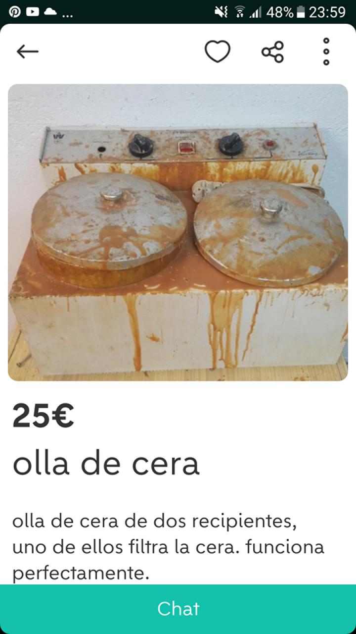 OLLA DE CERA