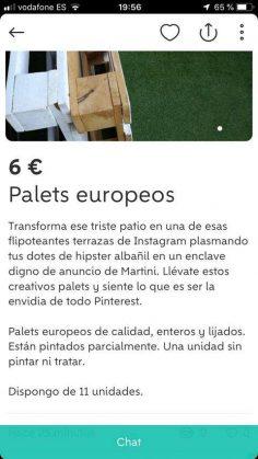 PALETS EUROPEOS