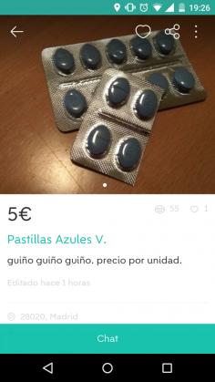 PASTILLAS AZULES