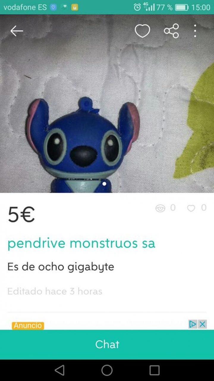 PENDRIVE MONSTRUOS SA