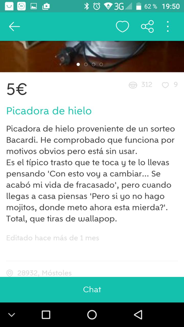 PICADORA DE HIELO