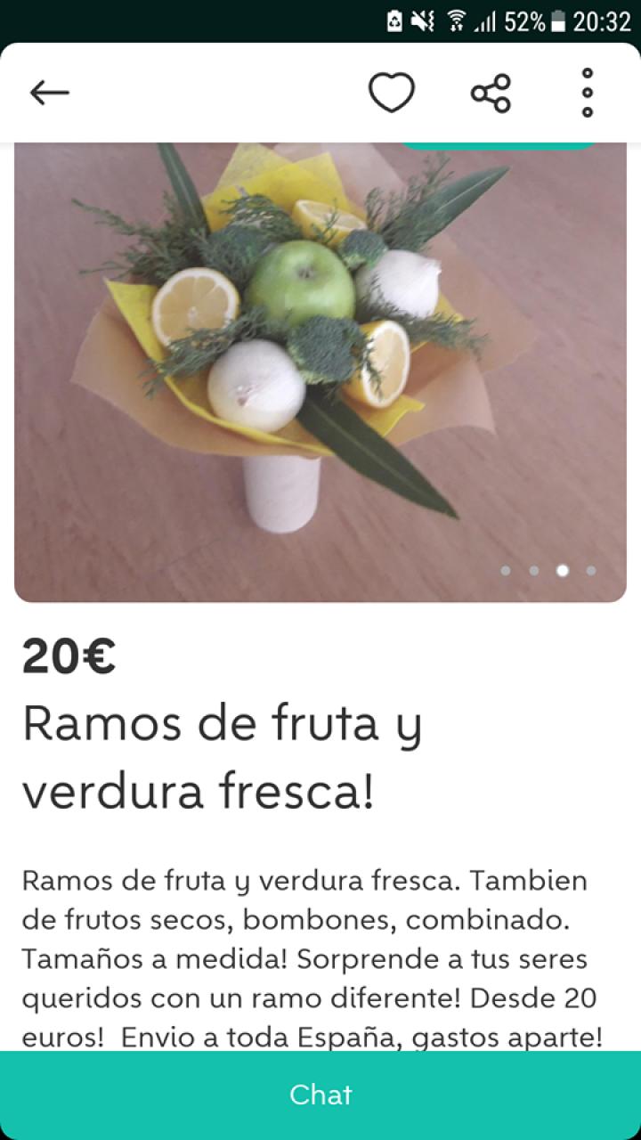 RAMOS DE FRUTA Y VERDURA FRESCA
